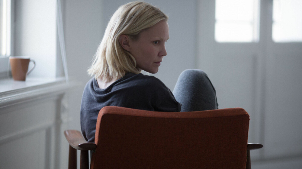 ENSOM: Ellen Dorrit Petersen har hovedrollen i Blind.