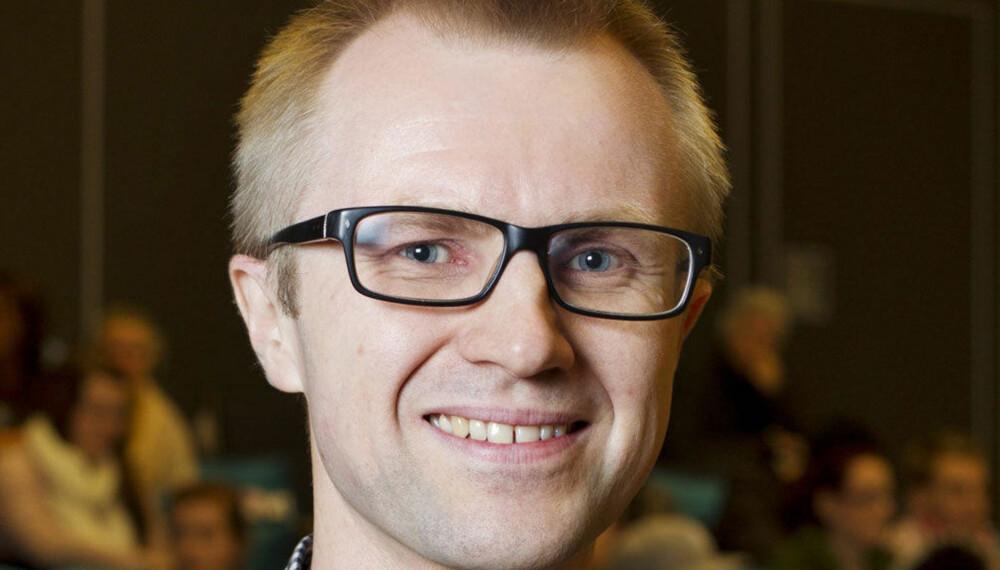 SKAM-SJEFEN: Håkon Moslet er ansvarlig for «Skam» i P3 og har travle dager med både norske og internasjonale fans.