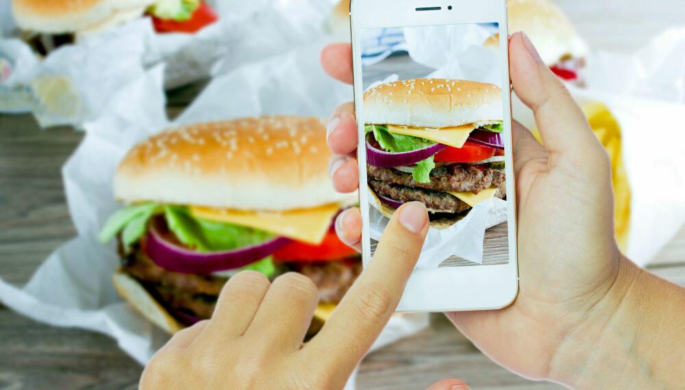 Interessert i mat? Da kan feeden din være full av matfoto om kort tid.