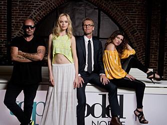 TOP MODEL: Donna Ioanna var én av de fire dommerne i forrige sesong av «Top Model Norge».