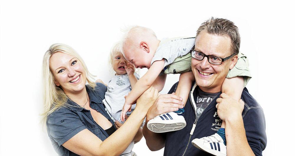 Tobarnsmor og Casa Kaos-blogger Marte Frimand-And barna fort kan bli et prosjekt - på lik linje med huset.