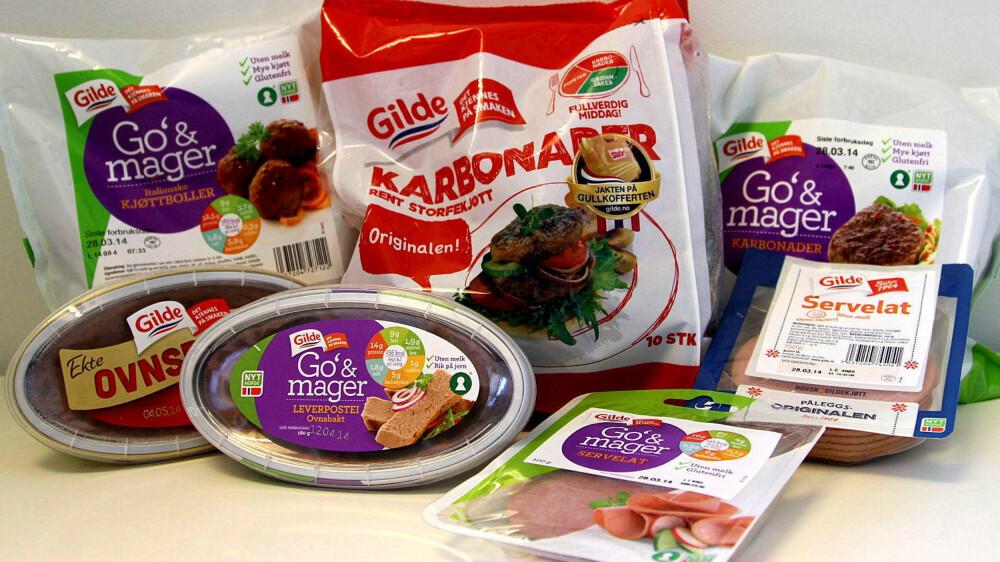 KJØTTMAT: «Mye kjøtt» står det på pakningene til «Go`& mager»-produktene. Men hvor stor forskjell er det egentlig mellom disse og orginale varianter?
