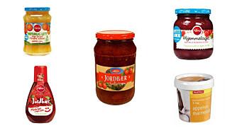 SØTE BÆR: Det kan være store variasjoner på sukkerinnholdet i de ulike syltetøy-variantene.