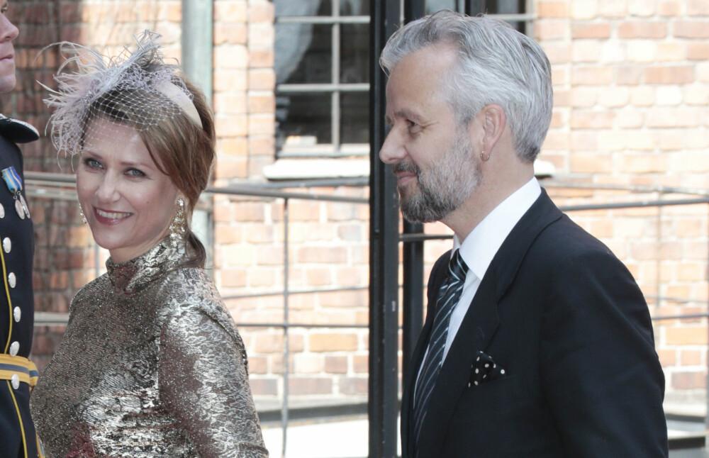 SKILLER SEG: Prinsesse Märtha og Ari Behn har gått fra hverandre etter 14 års ekteskap.