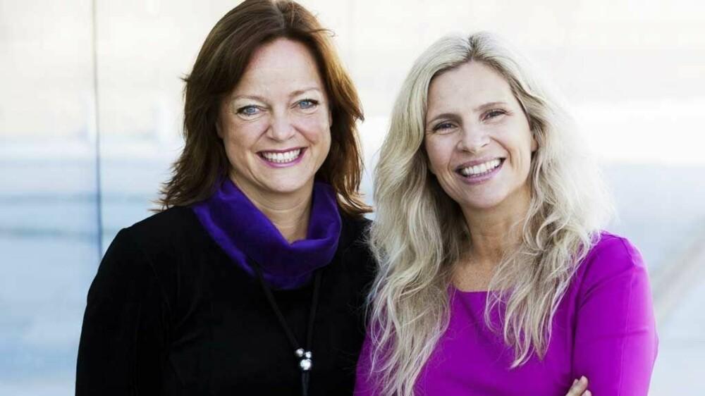 STØTT HVERANDRE: Birgit og Tonje mener det er viktig for kvinner å skape et kvinnefellesskap.