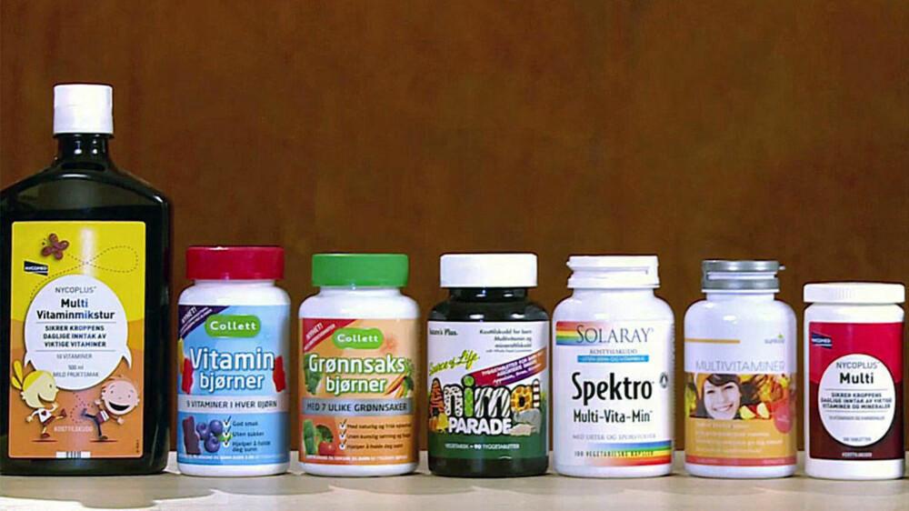MILLIONBEDRIFT: De ulike kosttilskudd-produsentene tjener godt på salg av vitamintilskudd til nordmenn, men sannheten er at du mest sannsynlig kaster bort pengene dine.