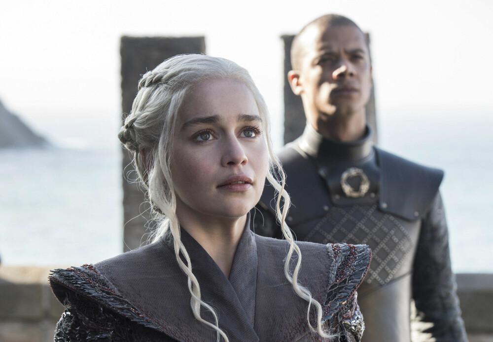 GAME OF THRONES: Emilia Clarke i rollen som Daenerys Targaryen i Game of Thrones.