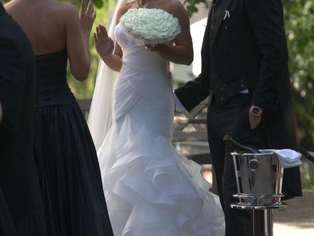GIFT: John Arne Riise og Louise Angelica giftet seg tidligere i år.