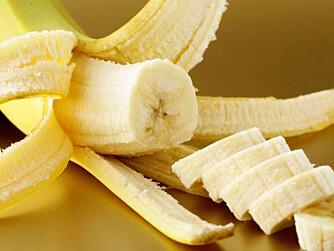 BANAN er et mye bedre valg enn kaker og godteri, understreker ernæringsekspert Torheim.