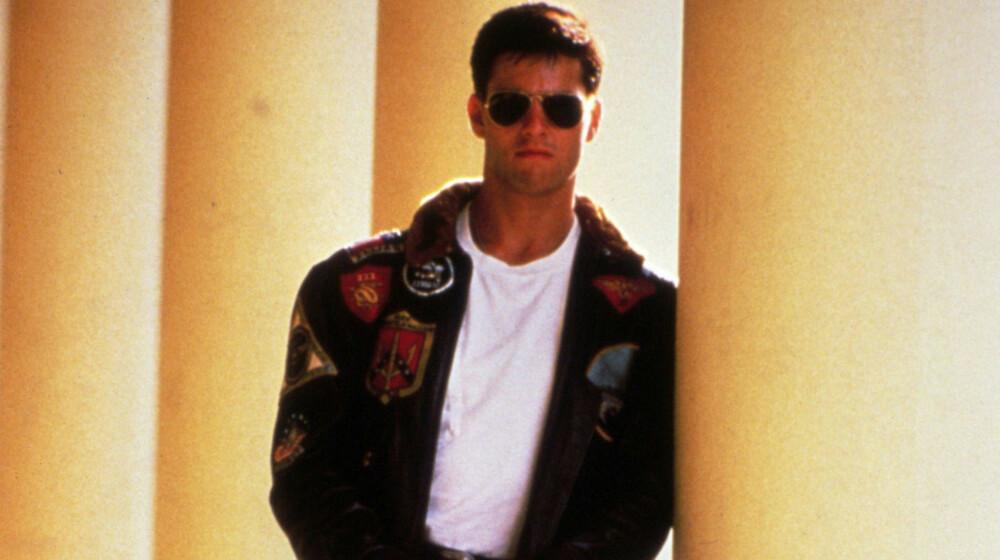 FILMSTJERNE: Tom Cruise ble en megastjerne etter Top Gun. Og han er det fremdeles.