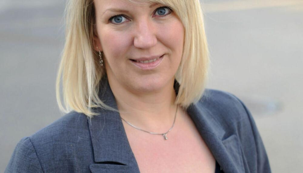 BLOGGER: Marte Frimand-Anda har to barn og bor på Toten.