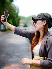 SELFIE-KULTUR: Sosiale medier bidrar til at det er vanskelig å distansere seg fra sin egen kropp.