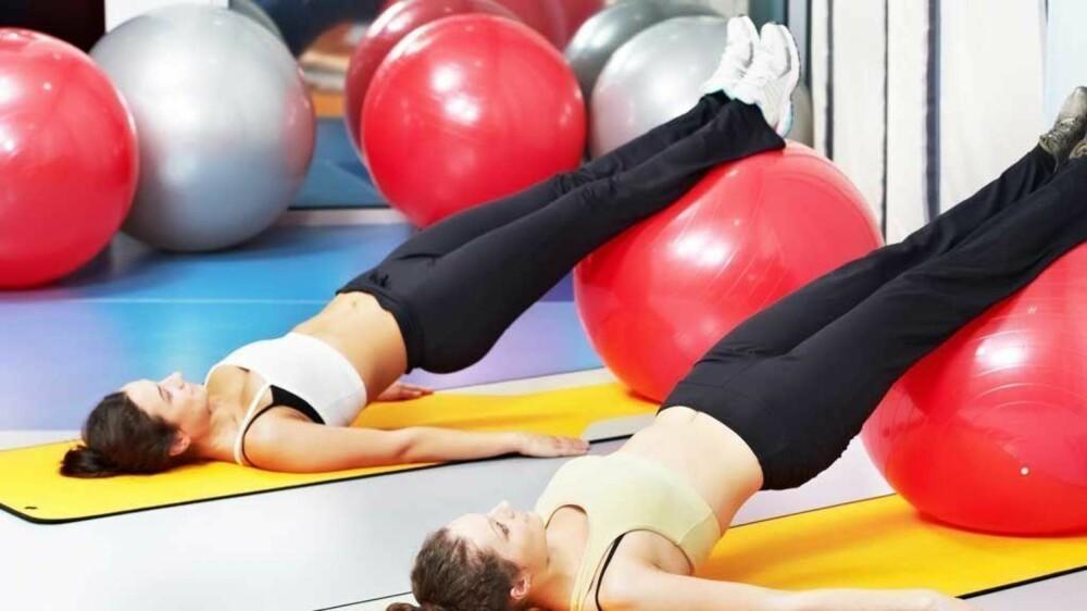 PILATES: Gjennom webtrening.no kna du trene pilates i ulike former.