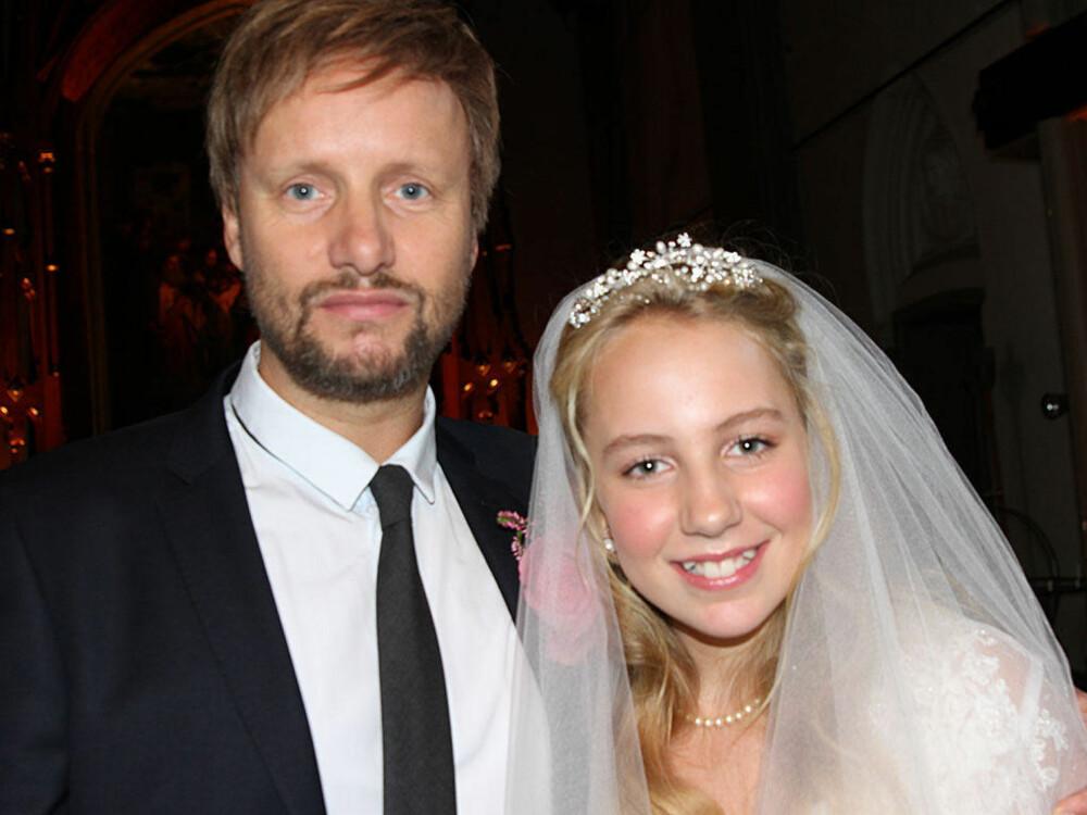 «Geir» (37) og «Thea» (12) aka Hallvard og Maja, skulle gifte seg i Kulturkirken Jakob i Oslo. Da presten spurte Thea om hun ville ta Geir til sin ektefelle, ble bryllupet stanset.