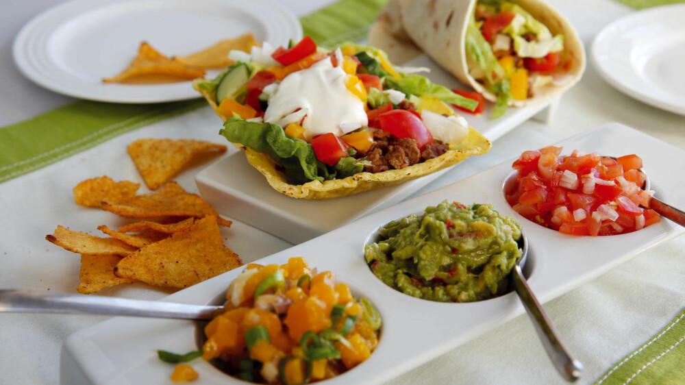 TACO: I Mexico spises taco med maistortilla, ikke skjell.