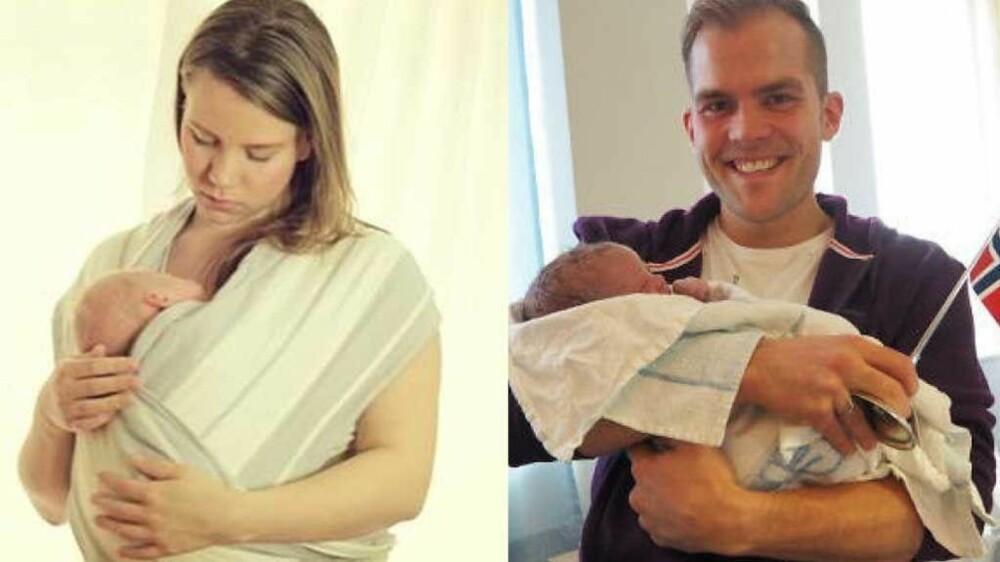6939d11a Bloggerne Jona Runarsdottìr og Peter Kihlman merket godt overgangen fra ett  barn til to.