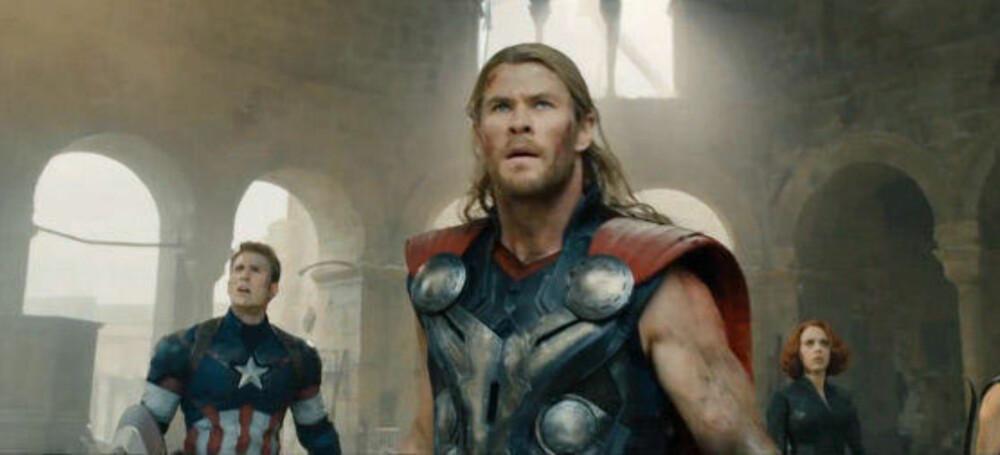 CHRIS HEMSWORTH i Avengers - Age of Ultron.