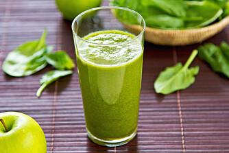 PÅFYLL: Få energi ved å starte dagen med en sunn smoothie.