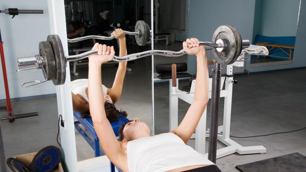 Det er mange som har trening som nyttårforsett. Og mange starter det nye året med å trene på et treningssenter.