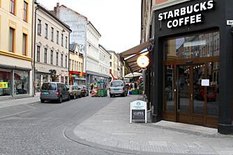 I fjor åpnet Starbucks i Torggata.