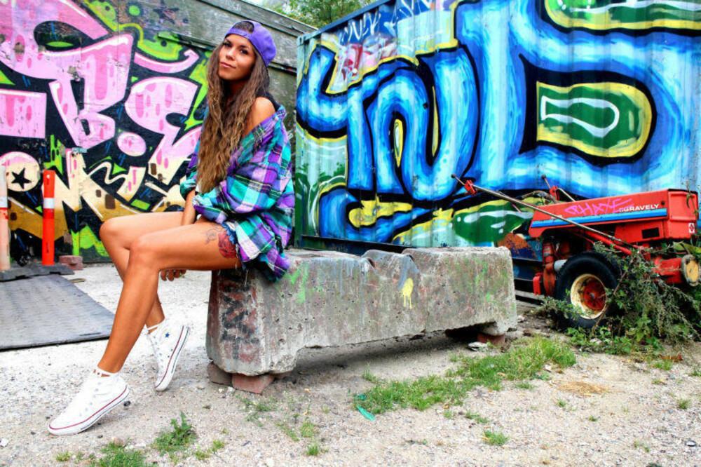 Kristin blir ofte inspirert når hun er på ferie, og kjøper mye av klærne sine i utlandet.