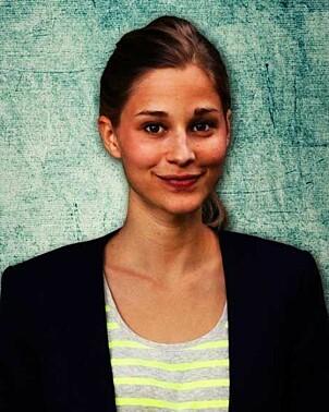 GJØR SUKSESS SOM FORFATTER: Giulia Enders arbeider ved Institutt for mikrobiologi og sykehushygiene i Frankfurt.