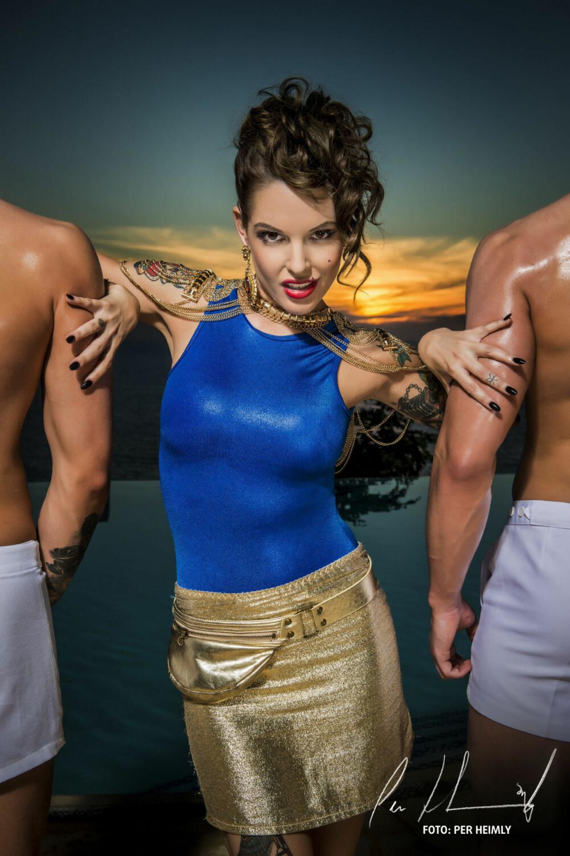 TRIANA IGLESIAS er klar for sin syvende sesong som programleder for Paradise Hotel.