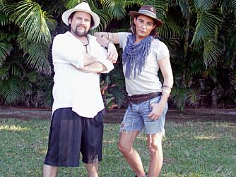 PER HEIMLY OG ERLEND ELIAS reiste ned til Mexico og Paradise Hotel med stylingoppdrag.