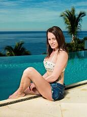 TINA HAGEN er en av årets Paradise-jenter.