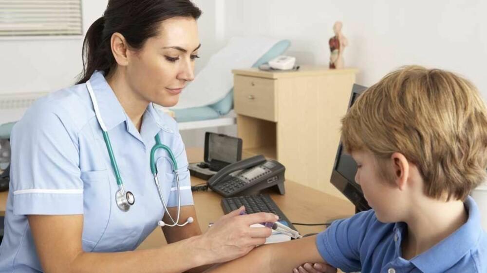 Norske barn vaksineres fra 3 måneders alder og frem til de er 15 år.