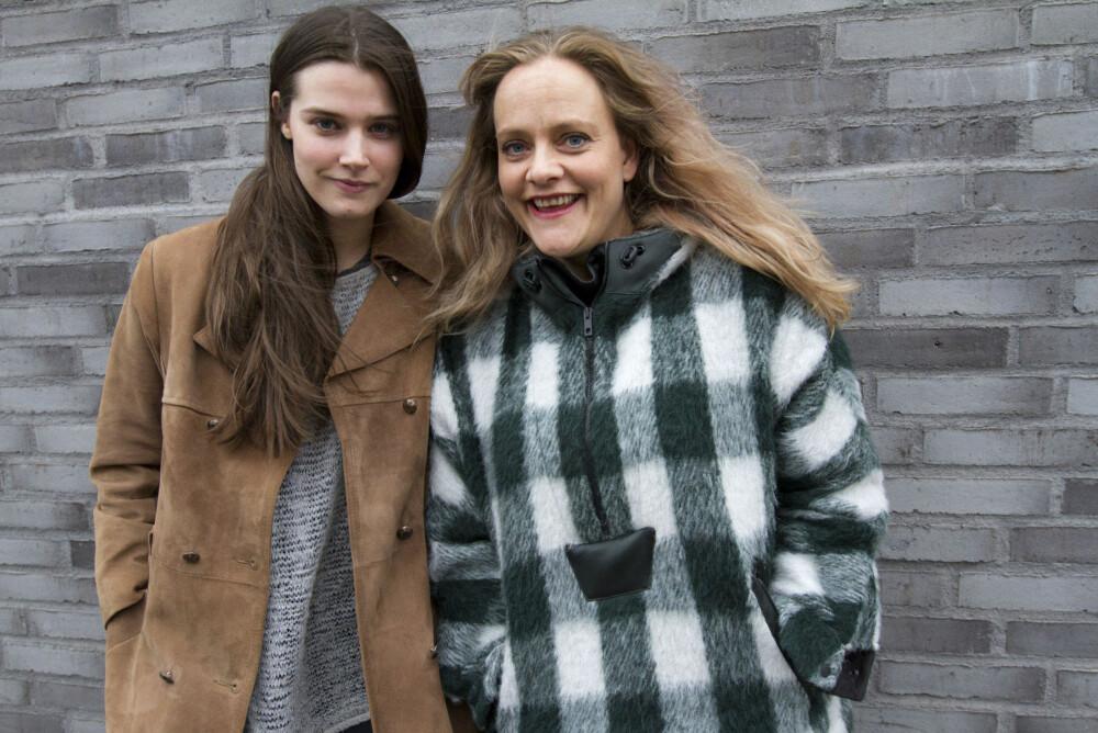 Inga Ibsdotter Lilleaas og Henriette Steenstrup har to av hovedrollene i den nye norske filmen Kvinner i for store herreskjorter.