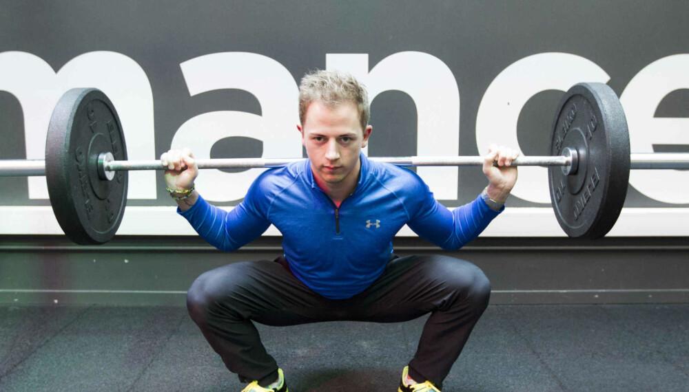 MARTIN NORUM er utdannet og arbeider som personlig trener.