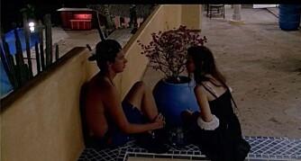 VIL IKKE: Mads vil ikke kysse Emilie, og sier ganske enkelt nei når hun prøver seg.