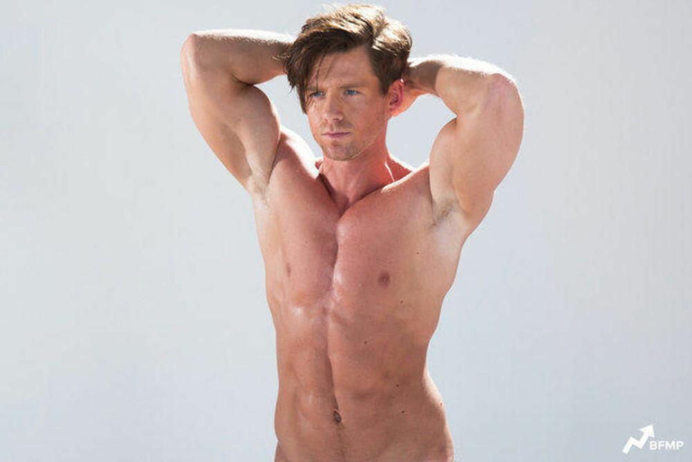 AUTRALIA: Til tross for at australske menn tidligere er blitt kåret til verdens mest attraktive, er det flere som gjerne vil være mer muskuløse og større enn det de er. Foto: Eugene Lee Yang / Skjermdump Youtube