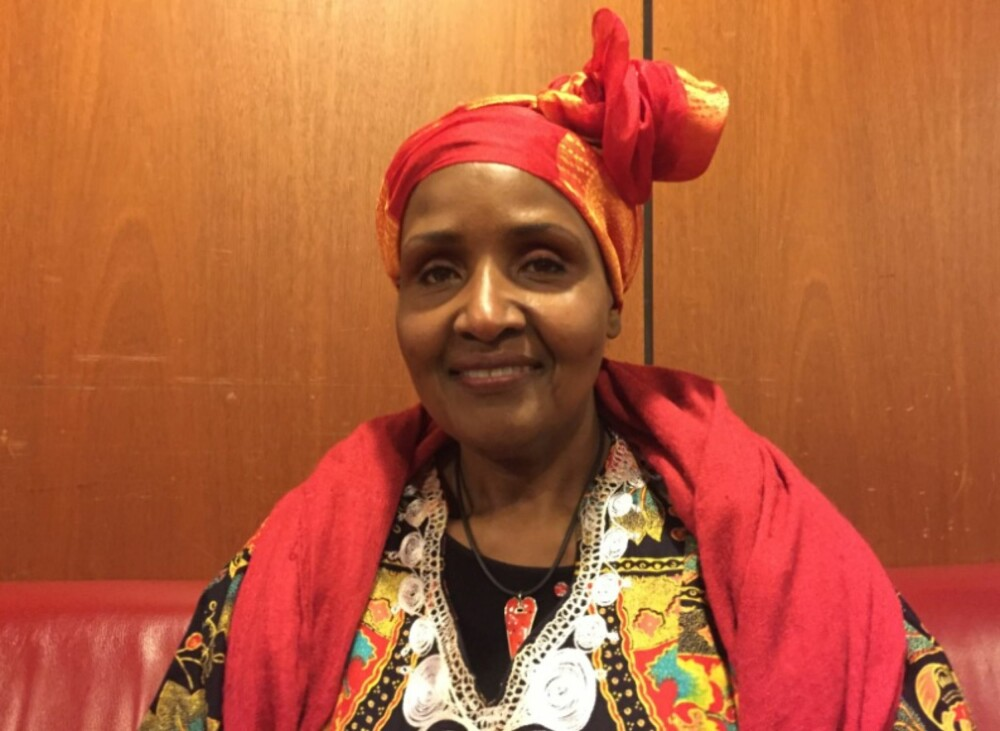 MODIG: Safia Abdi Haase (56) fra Somalia har dedikert sitt liv til kampen mot kjønnslemlestelse. Hun ble selv kjønnslemlestet, tvangsgiftet, mishandlet og voldtatt.