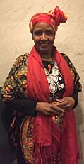 Safia har vært ansatt i Stiftelsen Amathea siden 2005.