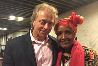 Safia er lykkelig med ny mann.