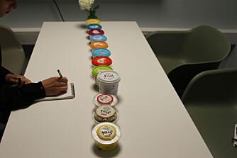 SIDE2 VURDERER KESAM: Vi har både smakt på produktene og sammenlignet de med fokus på næringsinnhold.