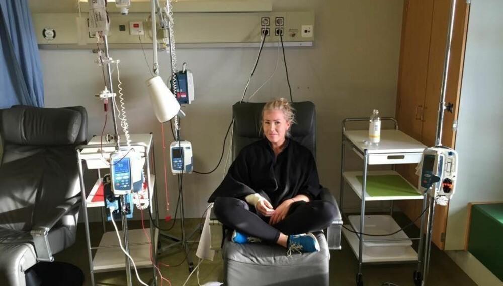 Thea Steen fikk livmorhalskreft som 25-åring. Hun fikk behandling på Haukeland sykehus.