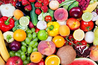 VITAMINBOMBER: Frukt, grønnsaker og bær er en god kilde til vitaminer og mineraler.