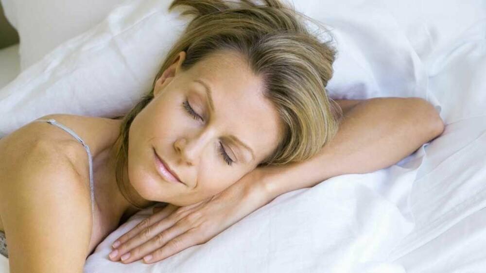 Tenk på noe hyggelig før du skal sove, for eksempel hvordan drømmeferien ville vært.