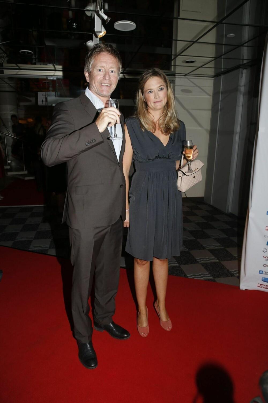Henrik Mestad med kona Adele.