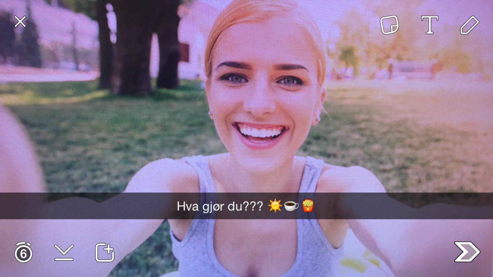Norsk snapchat konto nakenbilder