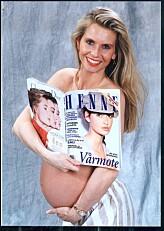 HENNE: Arnstad var 27 år og høygravid da hun lanserte HENNE. Sønnen Joachim ble født på lanseringsdagen.