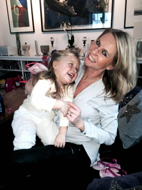 ELLEN ARNSTAD fikk datteren Gabrielle Margrete som 46-åring.