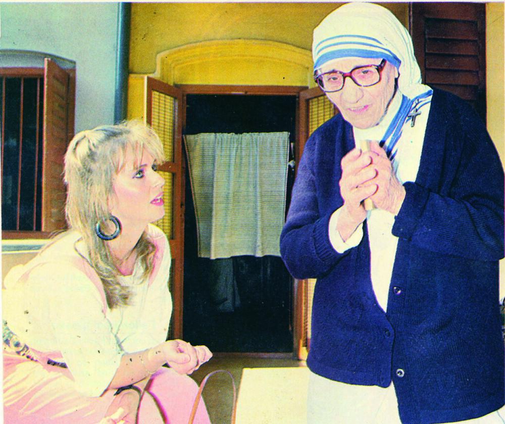 ELLEN ARNSTAD reiste som fersk journalist til Calcutta for å intervjue Mor Theresa.