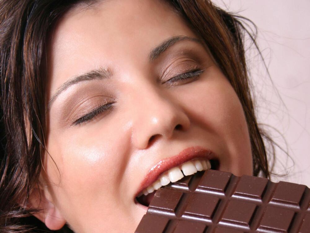 MMM: En bit sjokolade kan ha positiv effekt på både kropp og sinn.
