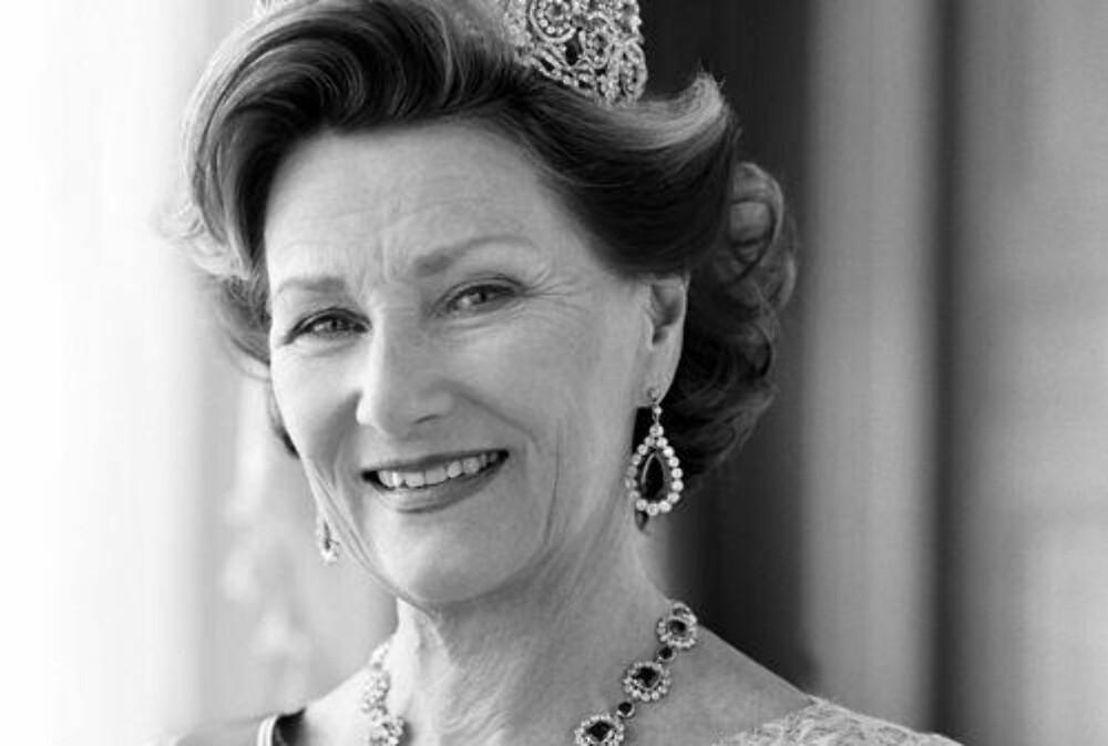NUMMER SEKS: Dronning Sonja