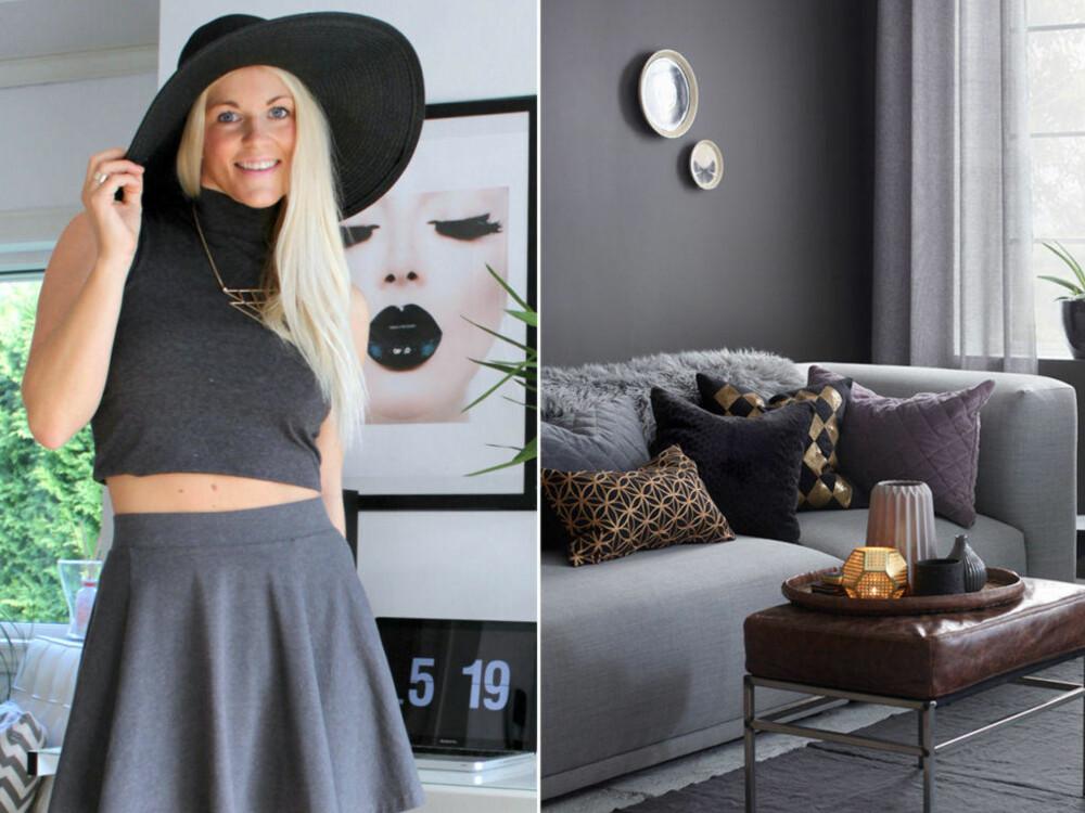 HØSTHYGGE: Interiørblogger ELisabeth Johansen deler sine beste tips.
