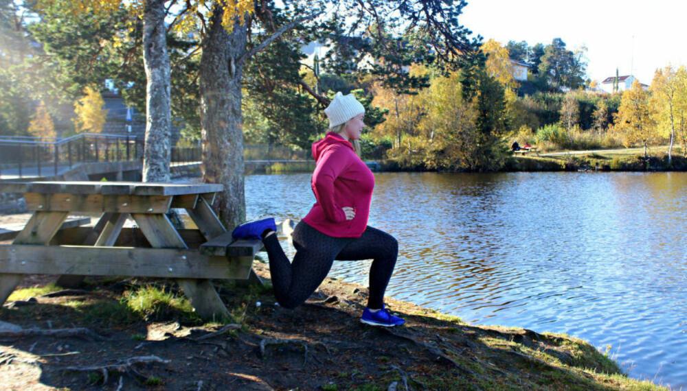 AKTIV HVERDAG: Gravide vil ha mange fordeler ved å trene gjennom svangerskapet, mener den personlige treneren.